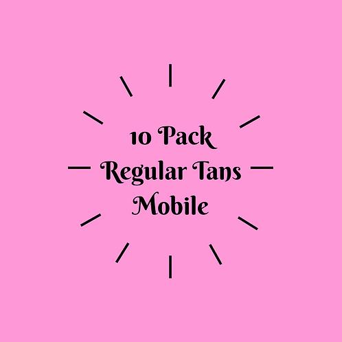 10 Pack Regular Tans- Mobile