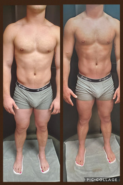 Men's Tan- Before & After
