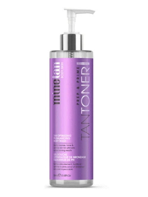 MineTan Tan Tone Body Wash 12oz