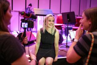 Katie at LIMF _robinclewley