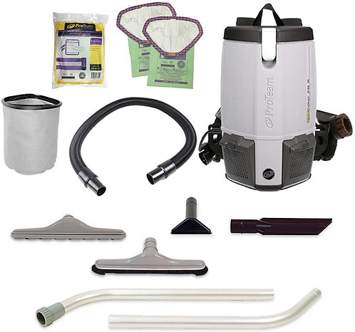 Provac FS6 6Qt Backpack Vac W/Restaurant Kit