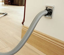 Central Vacuum Wall Outlet