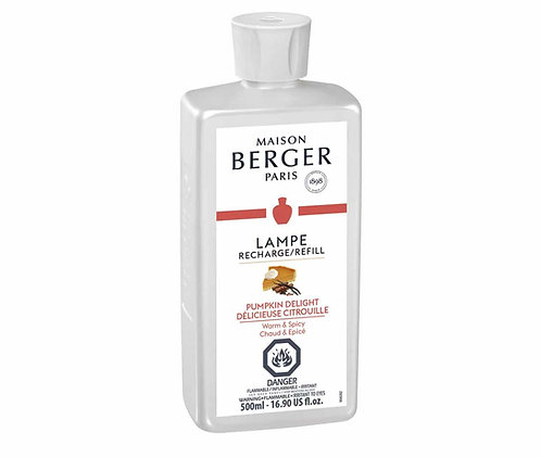 Lampe Berger 500ml/16.9-Fluid Ounces, Pumpkin Delight Parfum De Maison