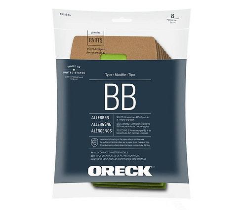 Oreck Buster B Vacuum Bags HypoAllergenic
