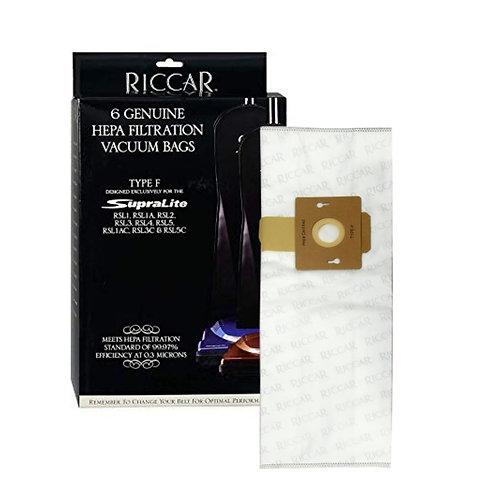 Riccar HEPA Supralite Bags (RFH-6) - 6 Pack