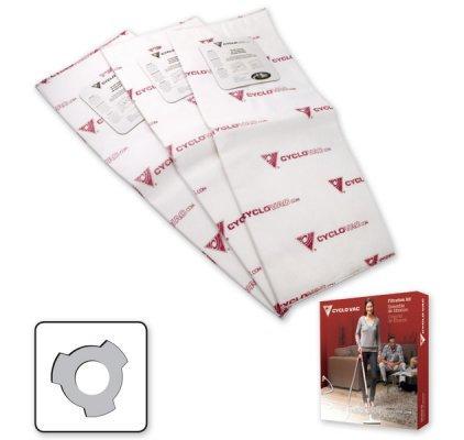 Cyclovac 3pk Bags