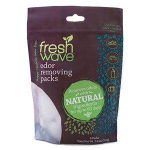 odor removing packs