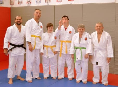Sport adapté : Remise de ceintures aux judokas