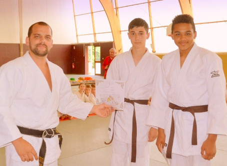 Judo : Toutes les ceintures sont montées d'un cran