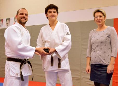 Une 22e ceinture noire à l'USP judo