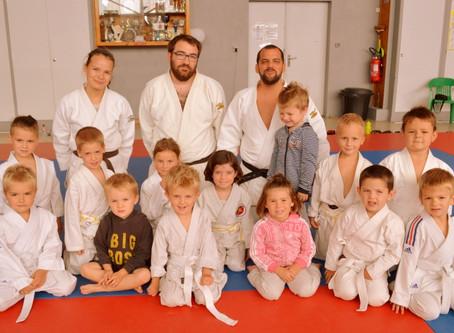Beau succès du baby judo dès quatre ans