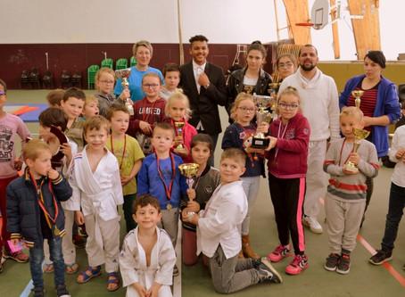 Tournoi de l'USP judo : 230 enfants sur les tatamis