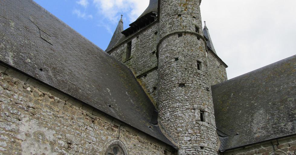 Restauration de l'église de Brecé
