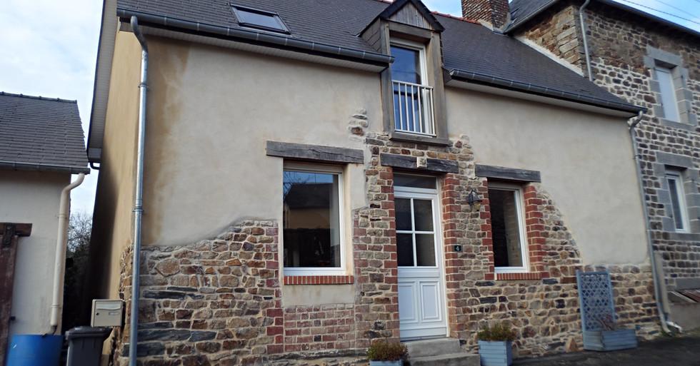 Rehabilitation maison de bourg