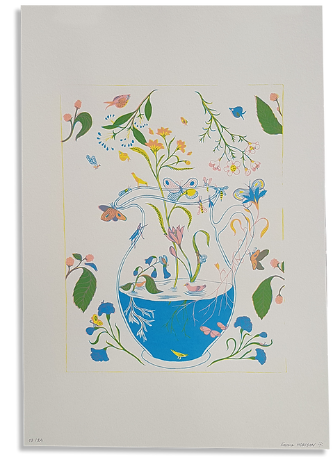 """Le Pichet Fleuri"" Emma Morison"
