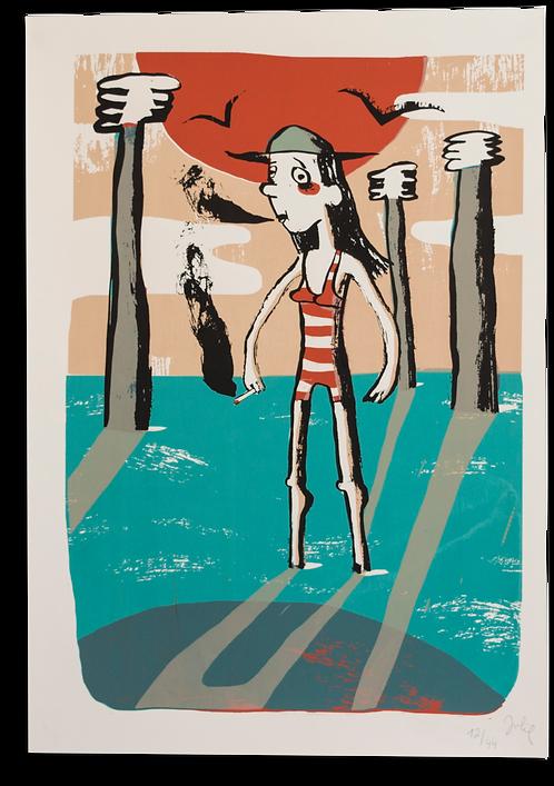 """""""Les pieds dans l'eau"""" Julie Legrand"""