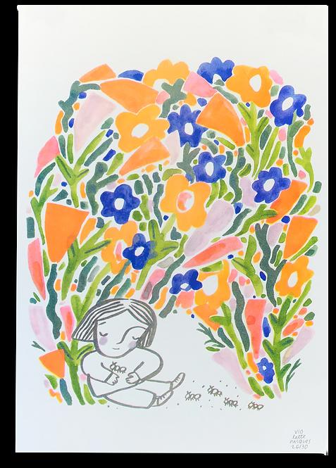 """""""Reine des Fourmis"""" Violette Pasques"""