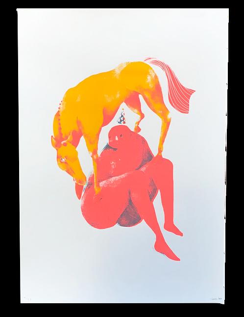 """""""La Femme et le Cheval"""" Garance Sawiki"""