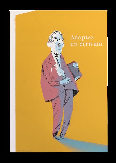 """""""Adoptez un écrivain"""" Montaine Sanchez"""