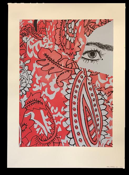 """""""L'Oeil en fleurs"""" Lou Maistre"""