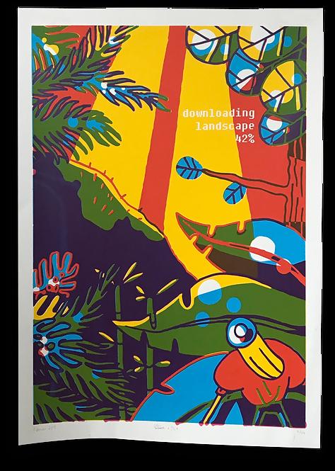 """Downloading Landscape"" Soline Guigonis & Cécile Bine"