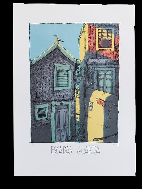 """""""Escadas Guarda"""" Léo Alcatraz"""