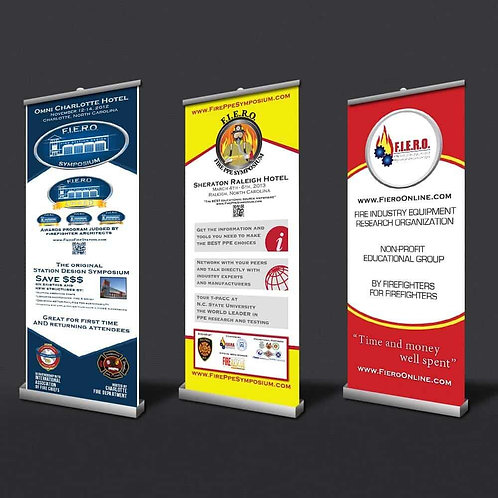 Stand Up Banner