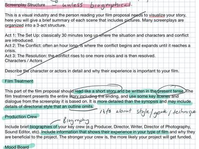 Week 8 & 9: Contexts and Audience: Webinar task; proposal models