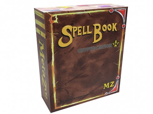 MetaZoo: Cryptid Nation Spellbook (First Edition, non-KS edition)