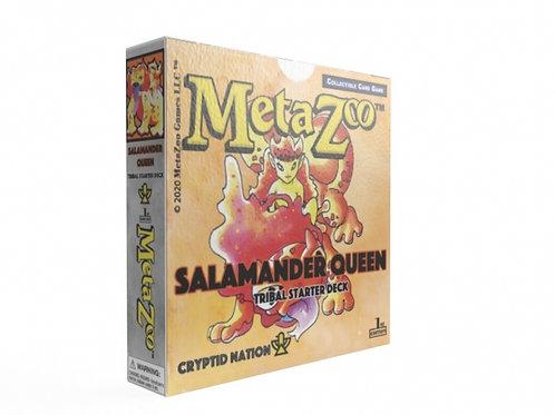 MetaZoo Salamander Queen Theme Deck (1st edition, non-KS)
