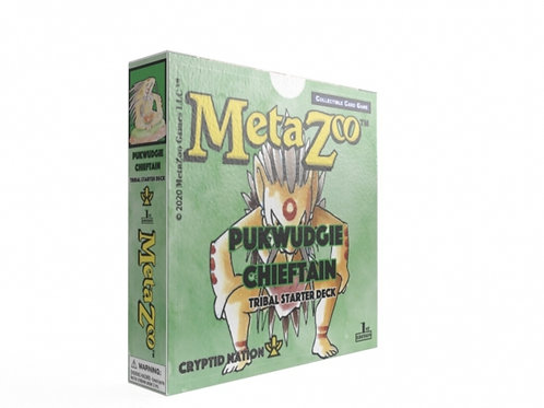 MetaZoo Pukwudgie Chieftain Theme Deck (1st Edtion, Non-KS)