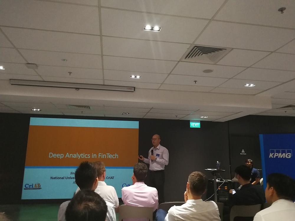 Prof. Duan at FINTEGRATION event