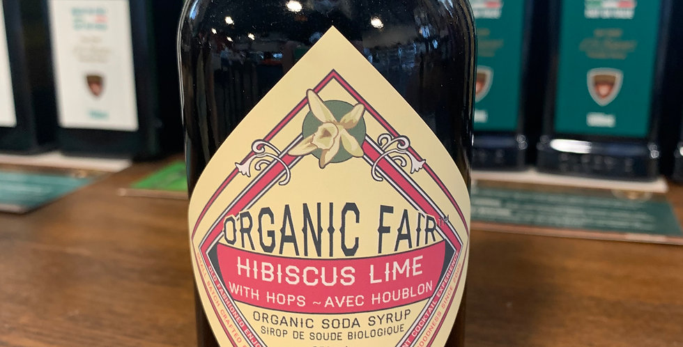 Organic Soda Syrup - Hibiscus Lime