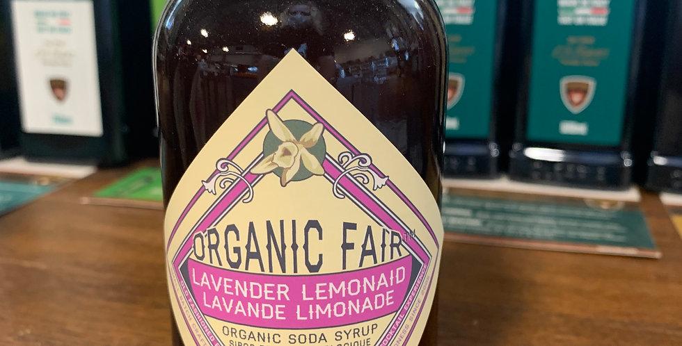 Organic Soda Syrup  - Lavender Lemonade