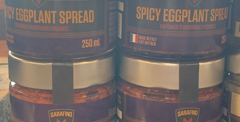 Sarafino: Spicy Eggplant Spread