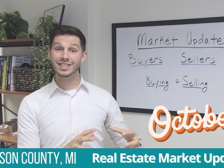 October Real Estate Market Update for Jackson, Michigan