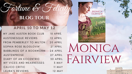 Fortune and Felicity one month blog tour launches today