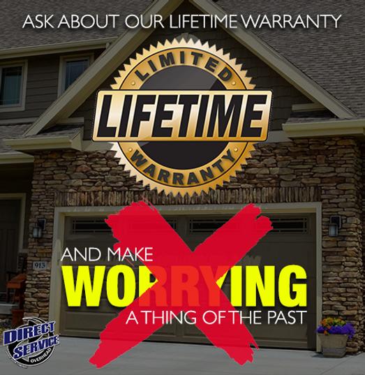 Lifetime Warranty Garage Doors