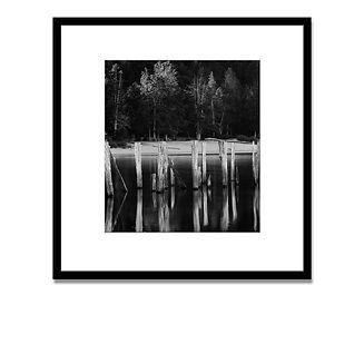 2 Mariano black mirror con marco + arrib