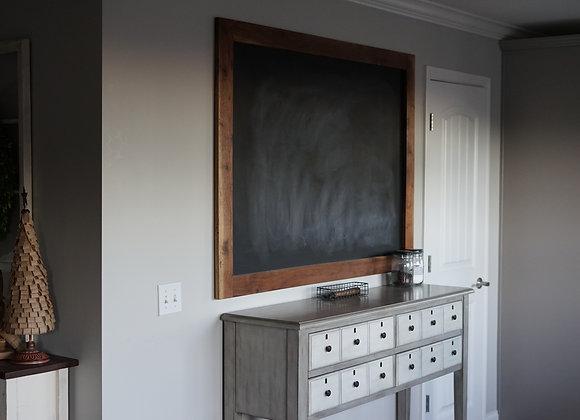 Hardwood Chalkboard
