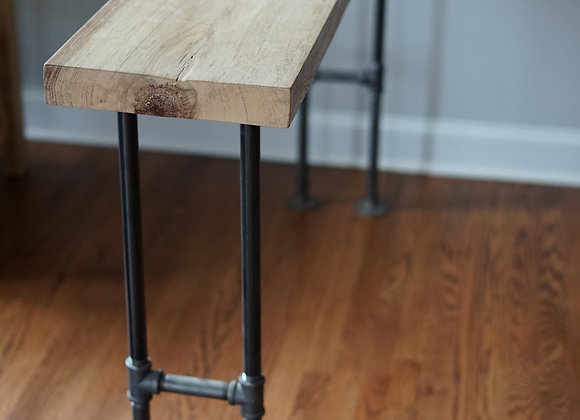 Iron Pipe Console Table