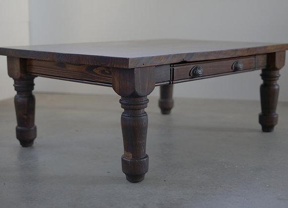 Turned Leg Coffee Table
