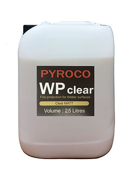 Pyroco WP Fire retardant intumescent lac