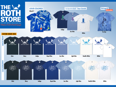 THE ROTH STORE「BLUE COLLECTION 2021」
