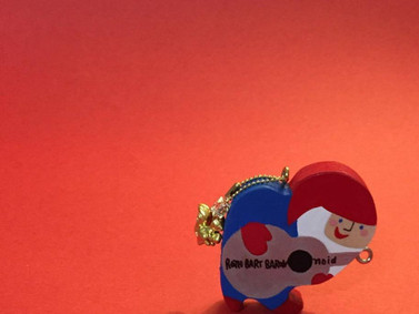 In Kanazawa, RBB & noid Christmas the ornament