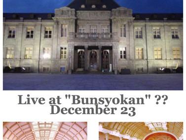 "Live at ""Bunsyo-kan"" project"