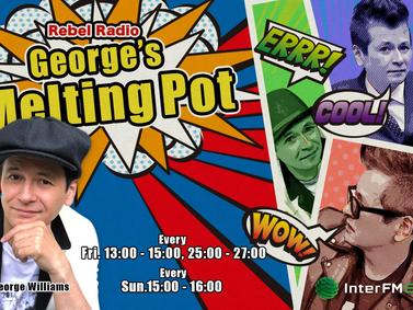 interFM『George's Melting Pot』生出演(10/23)