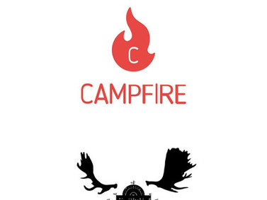 "A cloud funding campaign in ""CAMPFIRE"" to go to the United Kingdom"