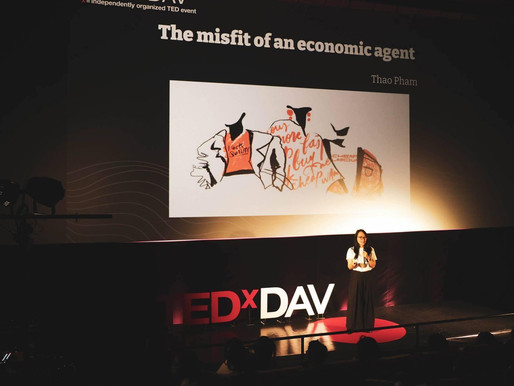 One day I found myself in TEDx event