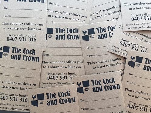 Cock & Crown Gift Vouchers